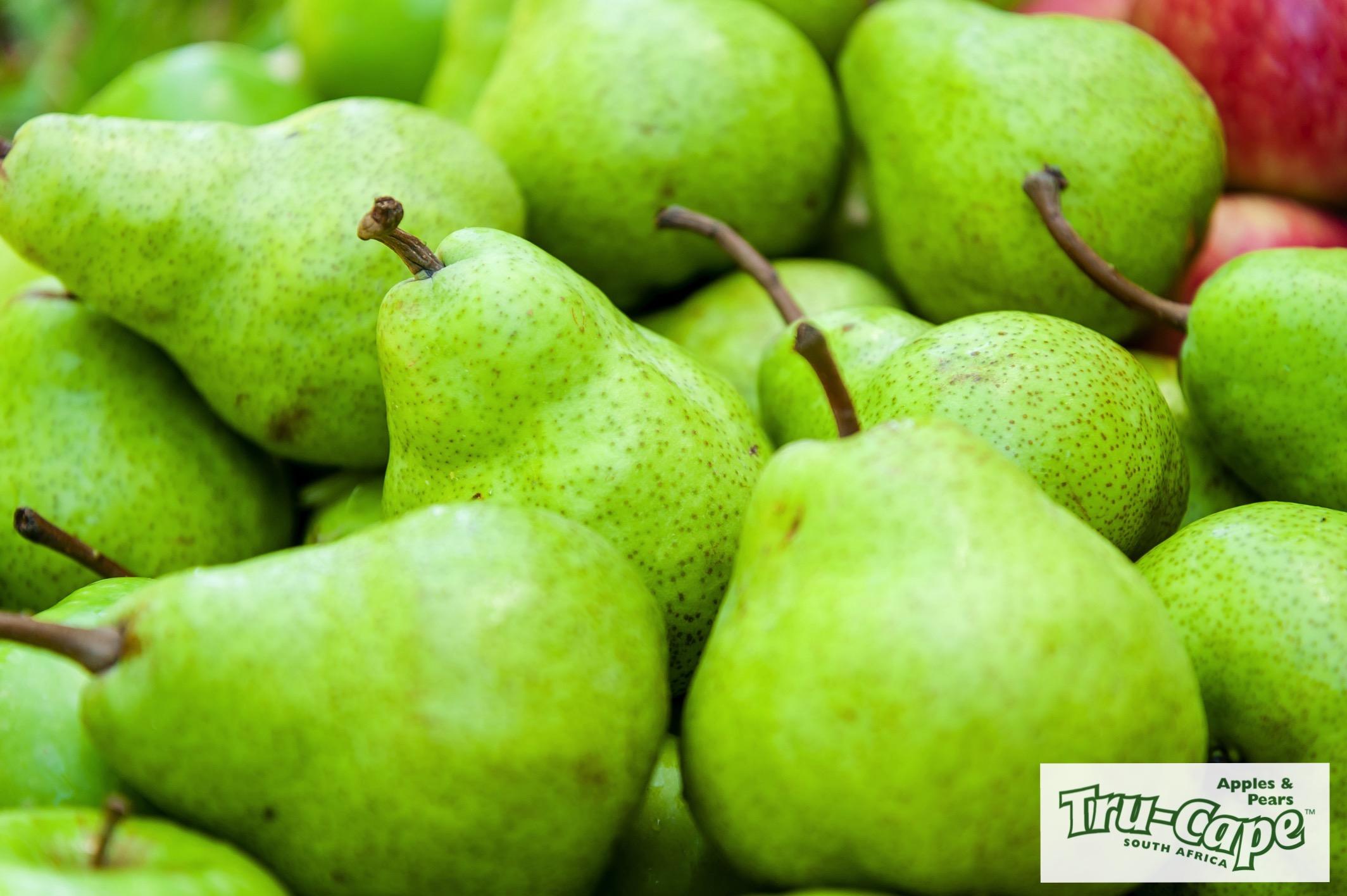 Packham's Triumph pears from Tru-Cape.