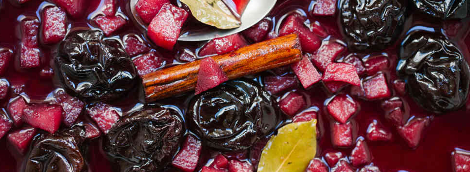 Pear and Prune Compote