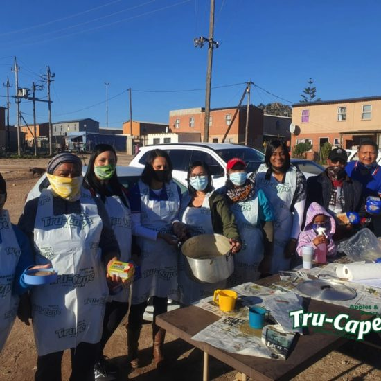 Two-a-Day help feed 1000 people on Mandela Day