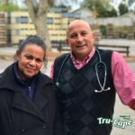 Nursing Sister Cheryl Bozman and Dr Anthony Hess at Two-a-Day